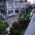 平田荘の2階から海の方